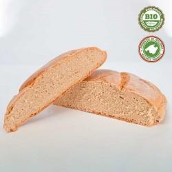 Round Semi Whole Grain Wheat Bread (Blat Mort)....