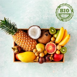 Biologische fruitbox