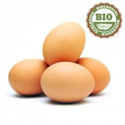Eggs chicken Mallorca/Bio (1/2 dozen)